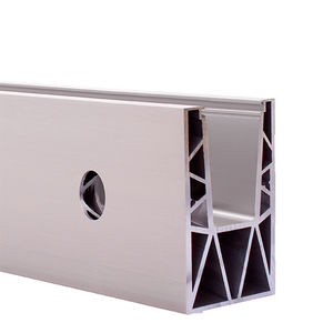 sistema de fijación de aluminio anodizado