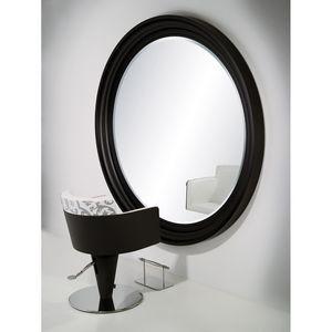 espejo de pared / contemporáneo / redondo / para centro de estética