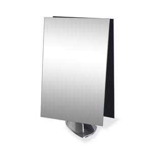espejo de sobremesa / contemporáneo / rectangular / para centro de estética