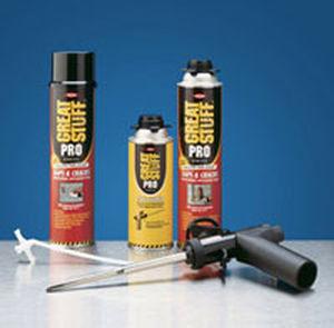 aislante termoacústico / de espuma de poliuretano / para ventana / para conducto
