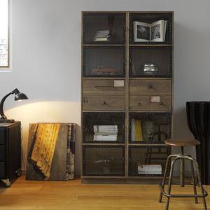 biblioteca modular / clásica / de madera
