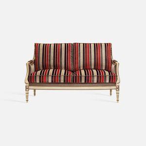 sofá de estilo Luis XVI