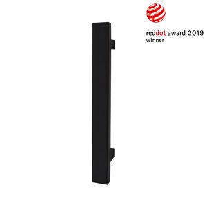 tirador de puerta para puerta / de acero inoxidable / contemporáneo / acabado satinado