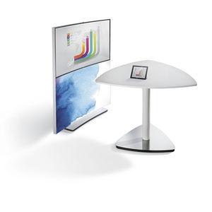 mesa de reuniones contemporánea / de chapa de madera / de HPL / de metal