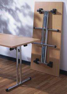 mesa de reuniones contemporánea / de melamina / rectangular / para oficina