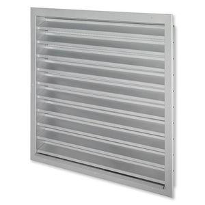 rejilla de ventilación aluminio / de acero / cuadrada