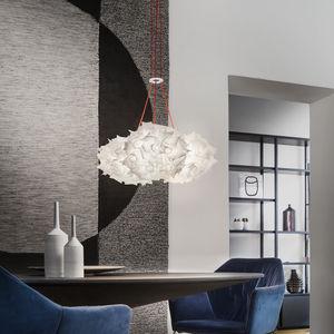 lámpara suspendida / contemporánea / de Opalflex® / de tecnopolímero
