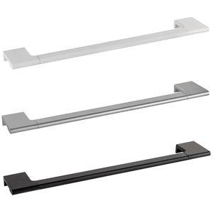 toallero 1 barra / de pared / de latón / de aluminio