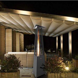 estufa de infrarrojos para exteriores para suelo / de gas