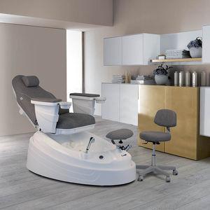 sillón spa de pedicura de cuero artificial