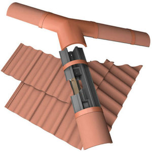 sistema de tejado curvo