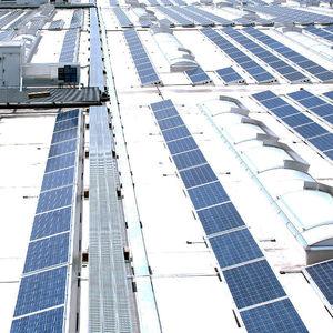 claraboya para instalación fotovoltaica
