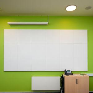 panel acústico mural