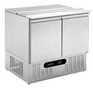 mesa fría para ensaladas profesional