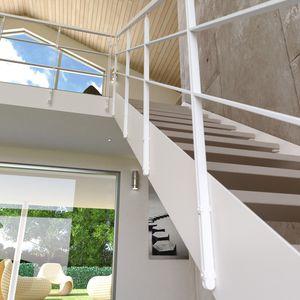 barandilla de metal / de balaustradas / de interior / para escalera