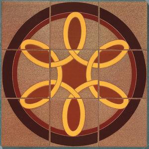 baldosa de exterior / para pavimento / de cerámica / con motivos