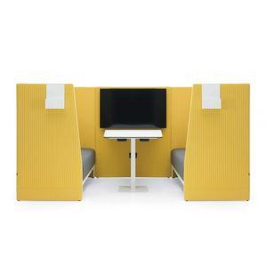 cabina de concentración acústica