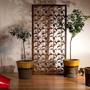 bloque de celosía de aluminio / de acero COR-TEN® / de jardín / para terraza