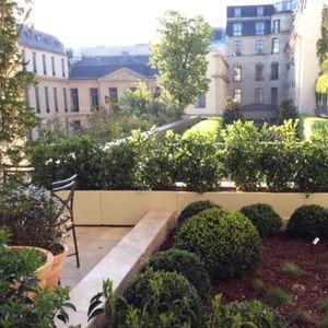 jardinera de aluminio / rectangular / de altura / lineal