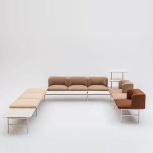 sofá modular / de esquina / contemporáneo / interior