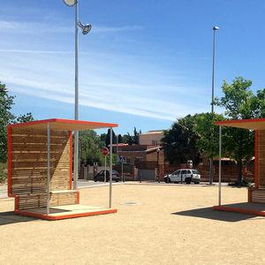 cubierta multifunción para espacio público
