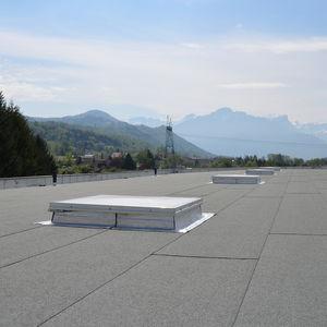 claraboya para cubierta de impermeabilización
