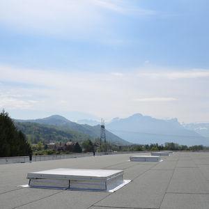 claraboya para tejados ventilados