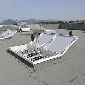 trampilla de ventilación de aluminio