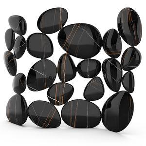 biombo de diseño original / de fibra de vidrio / a medida / negro