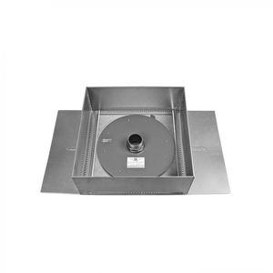 módulo de gestión de aguas pluviales para cubierta vegetal