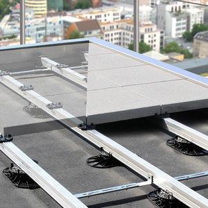 pedestal para suelo técnico de aluminio