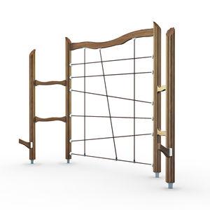 red de escalada para parque infantil