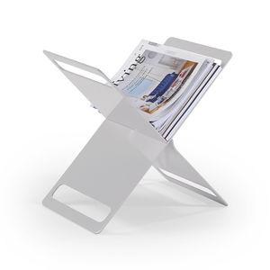 revistero contemporáneo / para uso residencial / de aluminio