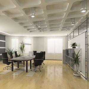 panel decorativo de aluminio / de material compuesto / para falso techo / para tabique
