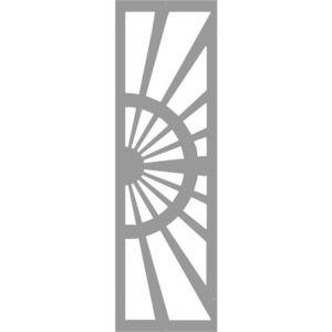 portón abatible