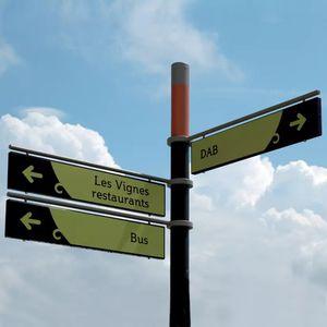 panel de señalización para suelo