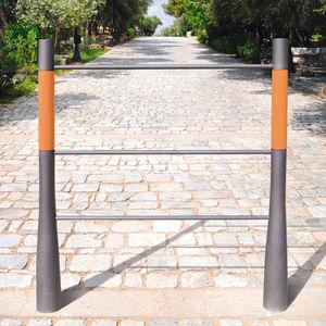 barrera de protección / fija / de acero / de hormigón