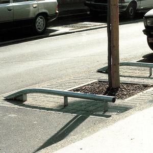 tope para estacionamiento de acero galvanizado