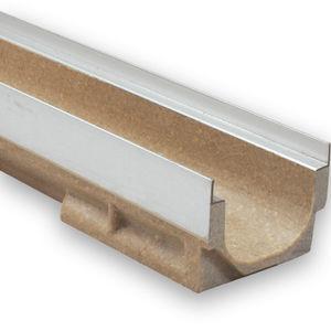 canal de drenaje de hormigón de resina