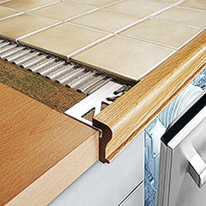 perfil de acabado de madera