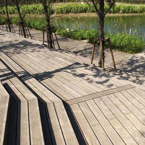 tarimas de exterior de bambú