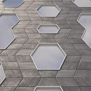 fachada ventilada de metal