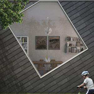 fachada ventilada de pizarra