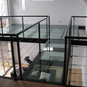 panel de vidrio laminado