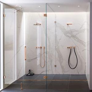 bisagra para ducha / de acero inoxidable