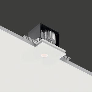 luminaria empotrable / LED / cuadrada / para habitación húmeda