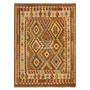 alfombra tradicional / con motivos / de lana / rectangular