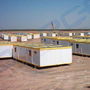 edificio prefabricado / modular / de hormigón / de acero