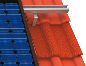estructura de soporte para cubierta de tejas
