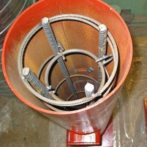 columna de material compuesto / de acero / prefabricada